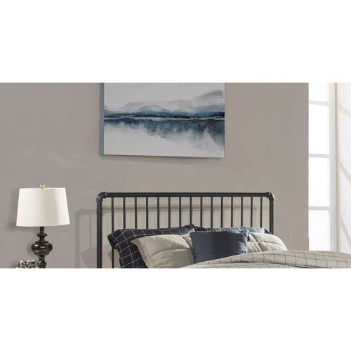 Hillsdale Furniture Brandi Headboard - Queen - Headboard Frame Included, Navy