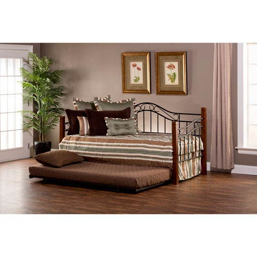 Matson Cherry Daybed with Suspension Deck and Trundle
