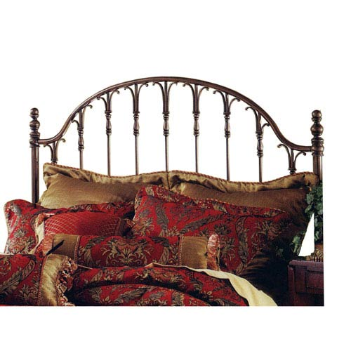 Tyler Antique Bronze King Headboard Only