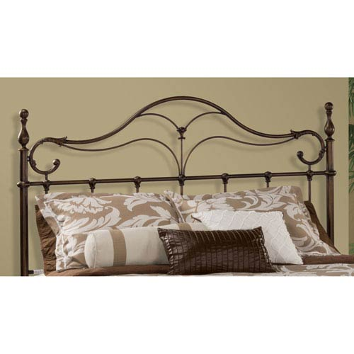 Hilale Furniture Bennett Antique Bronze King Headboard Only