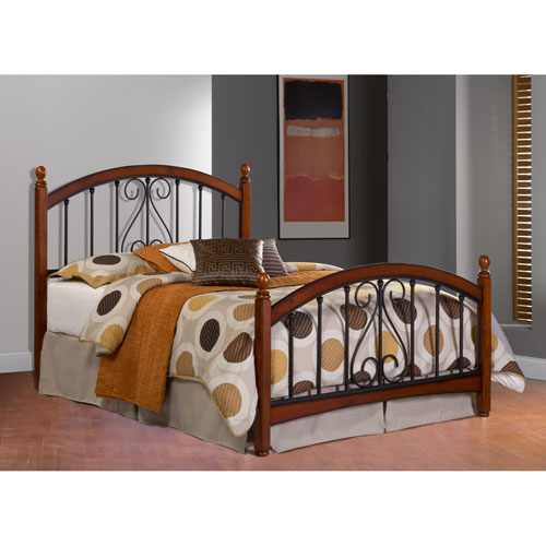 Burton Way Cherry King Complete Bed