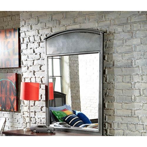 Hillsdale Furniture Urban Quarters Black Steel Mirror