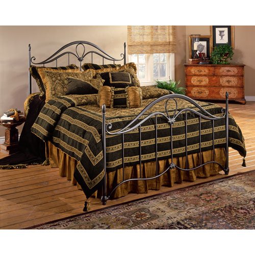 Hillsdale Furniture Kendall Bronze King Complete Bed