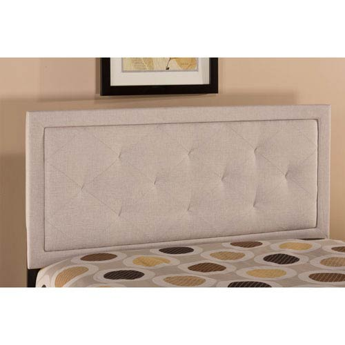 Becker Cream King Headboard Only
