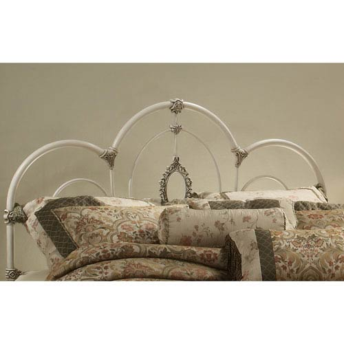 Victoria Antique White Twin Headboard Only