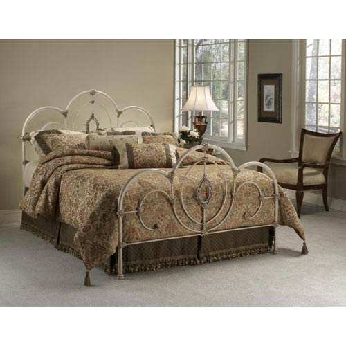 Hillsdale Furniture Victoria Antique White Full Complete Bed
