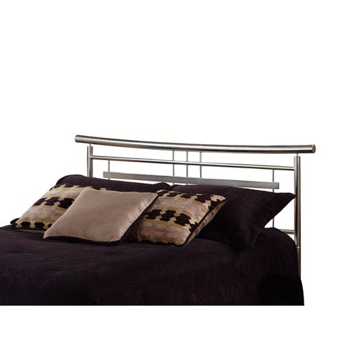 Brushed Metal King Headboard | Bellacor