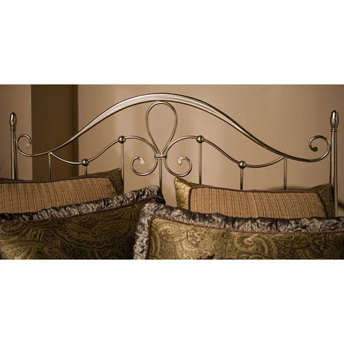 Doheny Antique Pewter King Headboard Only