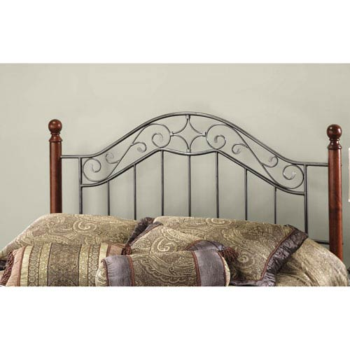 Hillsdale Furniture Martino Smoke Silver Full/Queen Headboard Only