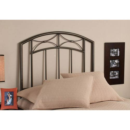 Morris Magnesium Pewter Twin Headboard Only