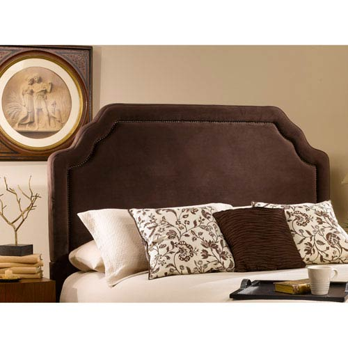 Hillsdale Furniture Carlyle Chocolate Queen Headboard Only