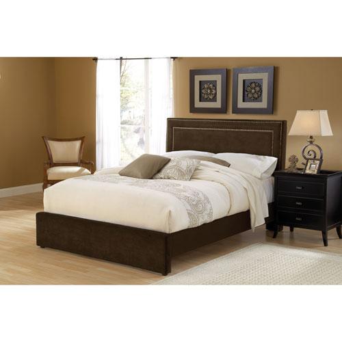 Amber Chocolate King Platform Bed Set