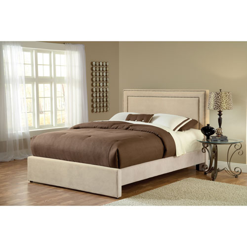 Amber Buckwheat Queen Platform Bed Set
