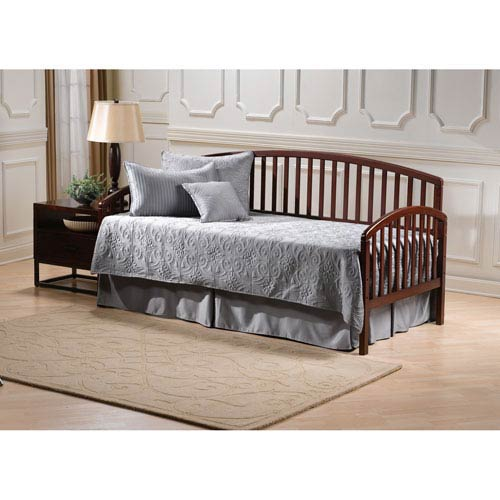 Carolina Cherry Daybed with Suspension Deck and Roll Out Trundle