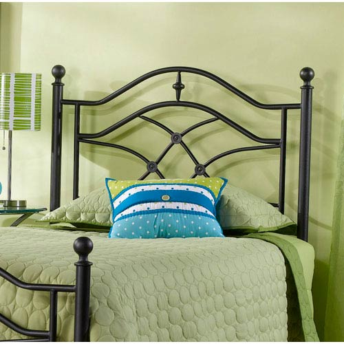 Hillsdale Furniture Cole Black Twinkle Twin Headboard Only