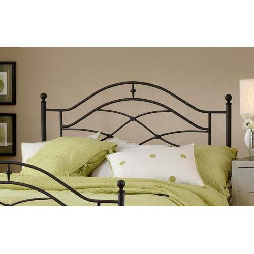 Hillsdale Furniture Cole Black Twinkle Full/Queen Headboard Only