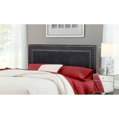 Amber Pewter Queen Headboard Only