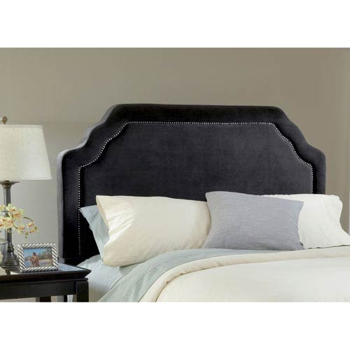 Carlyle Pewter King Headboard Only