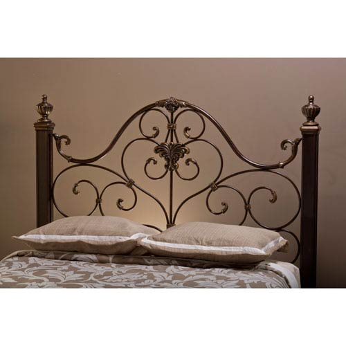 Mikelson Antique Gold King Headboard Only