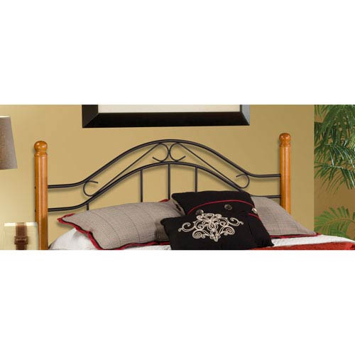 Winsloh Black King Headboard Only