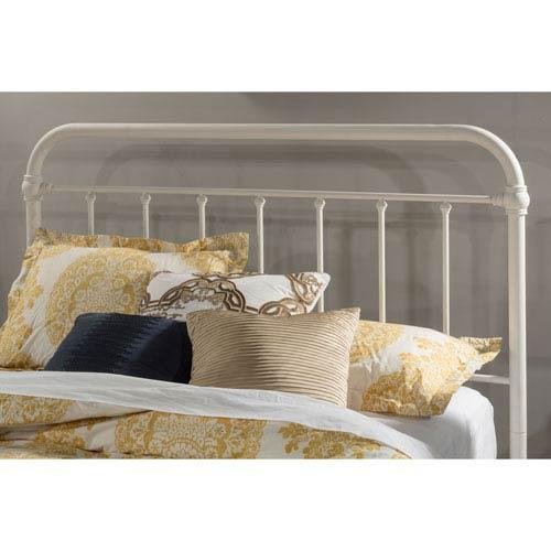 Hillsdale Furniture Kirkland King Headboard with Frame - Soft White