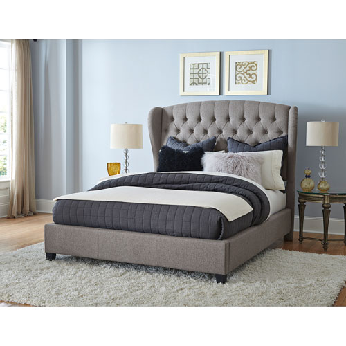 Hillsdale Furniture Bromley Orly Gray King Bed