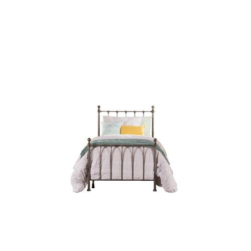 Molly Black Steel Twin Bed