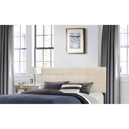 Delaney Full/Queen Headboard with Frame - Linen Fabric