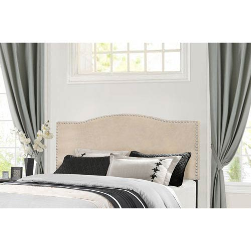 Hillsdale Furniture Kiley King Headboard with Frame - Linen Fabric