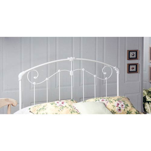 Hillsdale Furniture Maddie Glossy White Twin Headboard Only