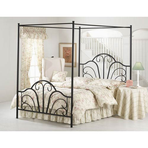 Canopy Beds Twin Full Queen King Canopy Beds Sets Bellacor