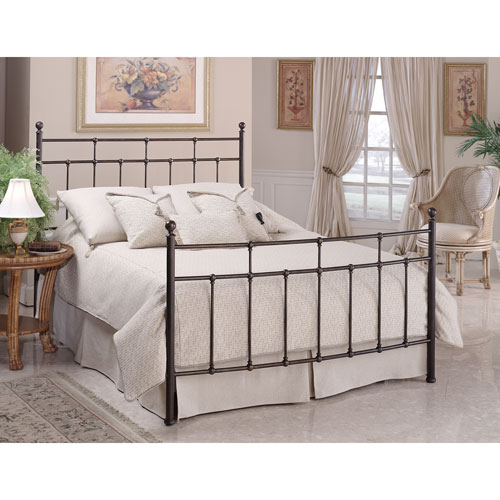 Providence Antique Bronze Queen Headboard and Footboard Only