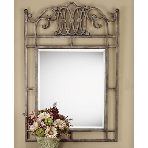 Montello Old Steel Mirror