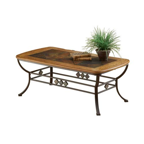 Hillsdale Furniture Lakeview Brown Cocktail Table