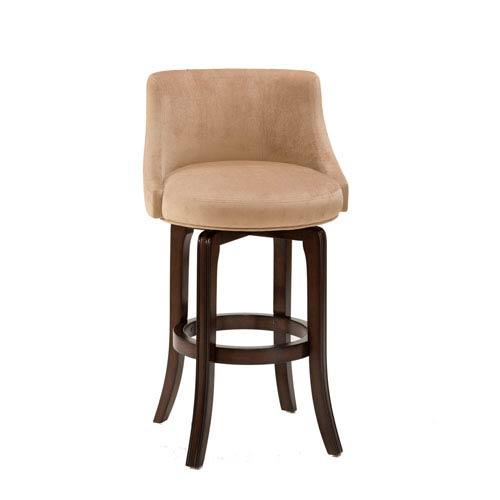 Hillsdale Furniture Napa Valley Khaki Cherry Swivel Bar Stool