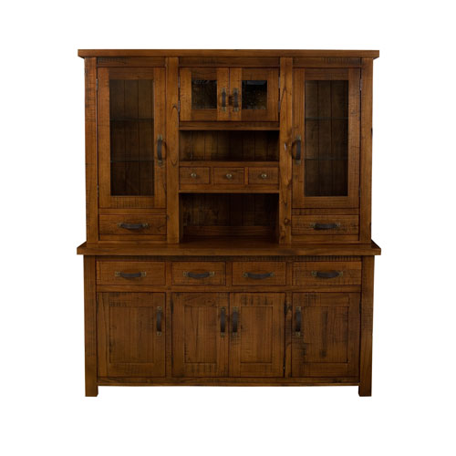 Outback Distressed Chestnut Buffet And Hutch