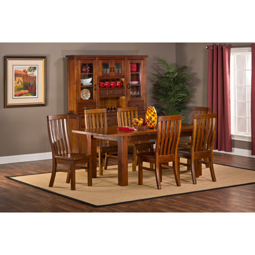 Outback Chestnut 7-Piece Dining Set