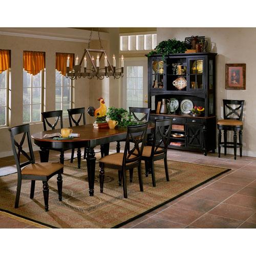 Hillsdale Furniture Northern Heights Black/Cherry Five Piece Dining Set