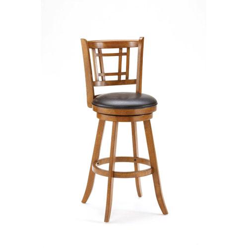 Hilale Furniture Fairfox Oak Swivel