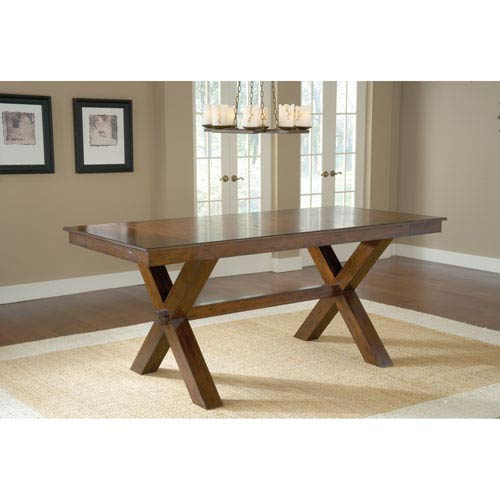 Park Avenue Dark Cherry Counter Height Trestle Table