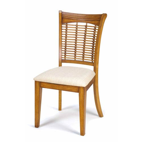 Bayberry Oak Dining Chairs, Set of Two