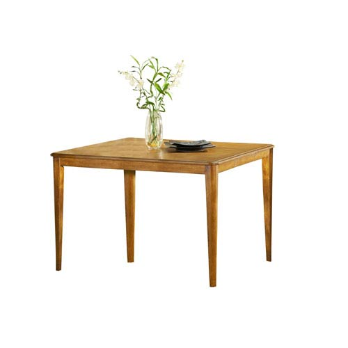 Hillsdale Furniture Bayberry Oak 36 X 54 Counter Height Gathering Table  With Leaf