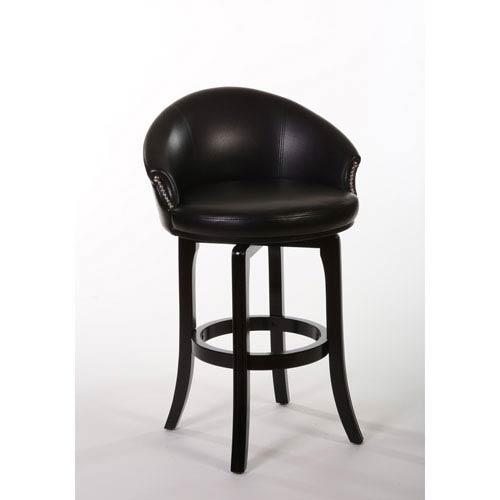 Hillsdale Furniture Dartford Dark Brown Cherry Swivel Counter Stool
