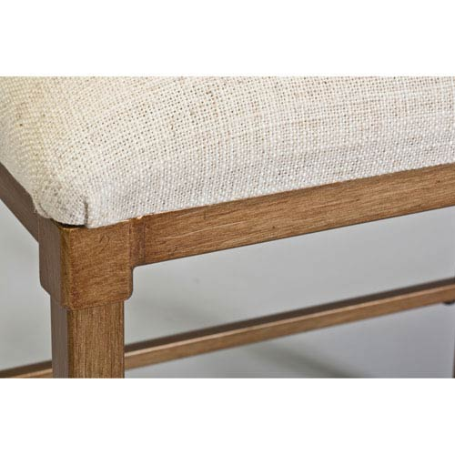 Hillsdale Furniture Katherine Bronze Backless Vanity Stool