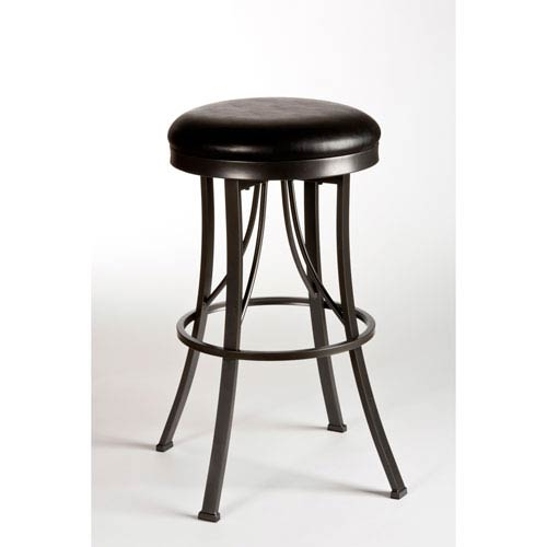 Hillsdale Furniture Ontario Pewter 30 Inch Bar Stool 5149 830 Bellacor