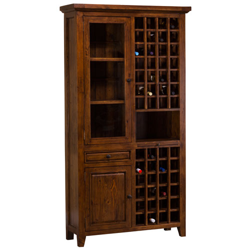Hillsdale Furniture Tuscan Retreat Oxford Tall Wine Storage