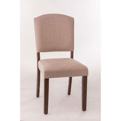 Hillsdale Furniture Emerson Brown Dining Chair, Set of 2