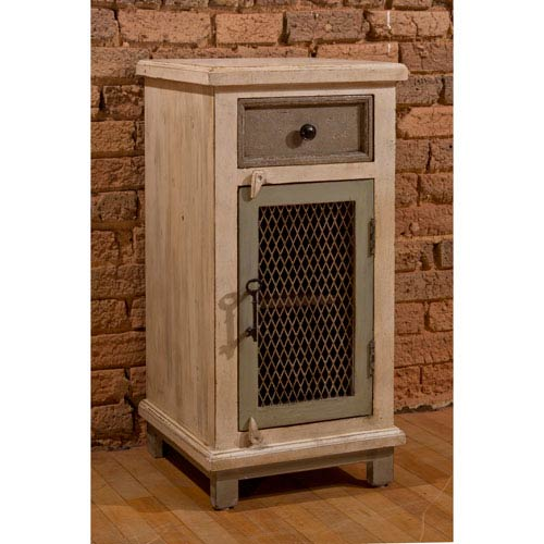 Hillsdale Furniture Larose One Drawer / One Door Cabinet with Decorative Wire