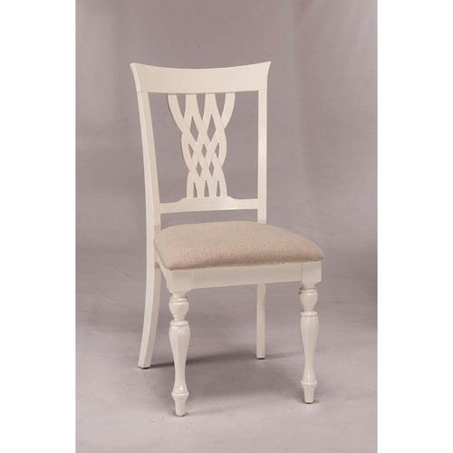 Embassy White Dining Chair, Set of 2