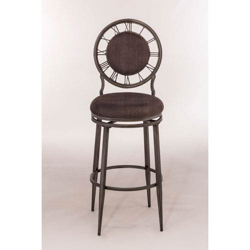 Big Ben Pewter Big Ben Swivel Counter Stool